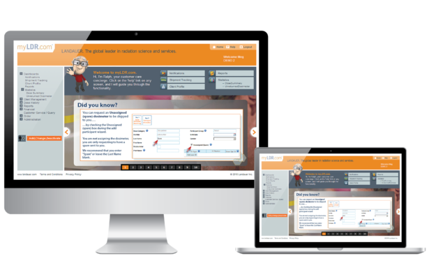 Dosimetry online solution