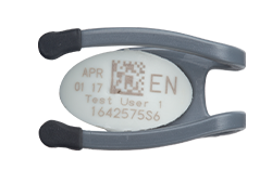 Vision lens of eye dosimeter